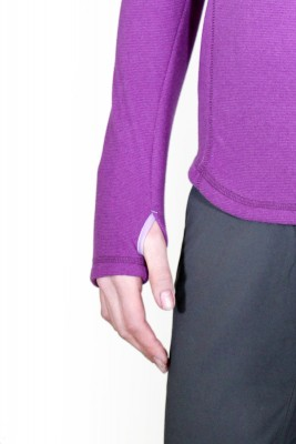 Abertura para el Pulgar - Tatoo Half Zip Creek Women