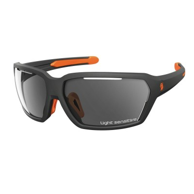 GREY MATT/NEON ORANGE - Scott Sunglasses Vector LS