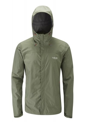 Field Green - Rab Downpour Jacket