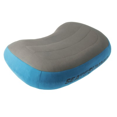 blue/grey - Sea to Summit Aeros Premium Pillow Regular