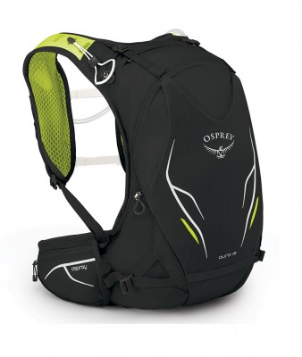 ELECTRIC BLACK - Osprey Duro 15 w Res