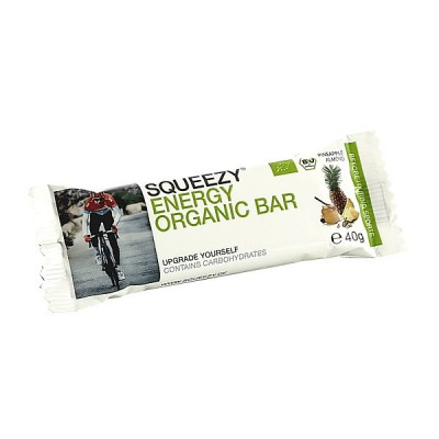 Pineapple Almond - Squeezy Energy Organic Bar