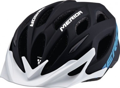 Matt Black/Blue/White - Merida Bikes Matts Helmet