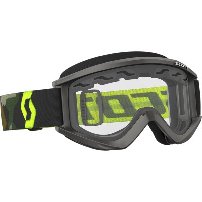 Grey/Fluo Yellow (Clear Cat. 0) - Scott Goggle Recoil Xi Enduro