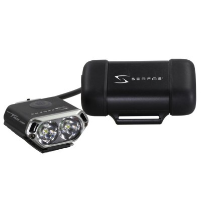 Serfas SL-LT1000 Lumens Lite w/2 Cell Battery