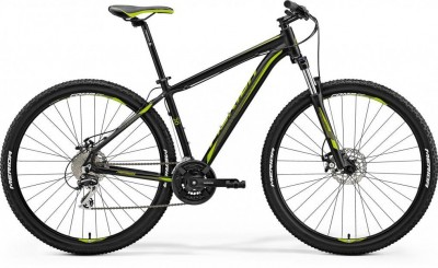 Matt Black(Green) - Merida Bikes Big.Nine 20-MD - 2018
