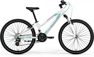 Pearl White(Purple/Teal) - Merida Bikes Matts J24 - 2018