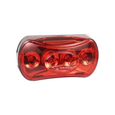 Serfas Five Led Rear Flasher Light - Batteries Incl.