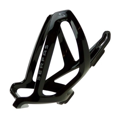 Black - Serfas Starfighter Nylon Cage
