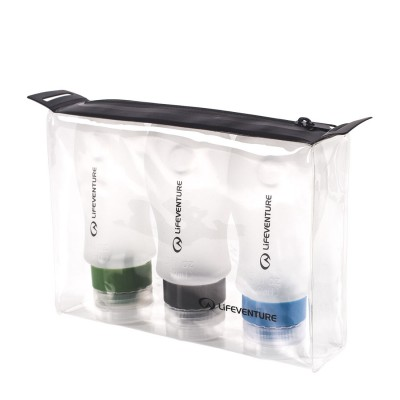 Lifeventure Silicon Bottle Set