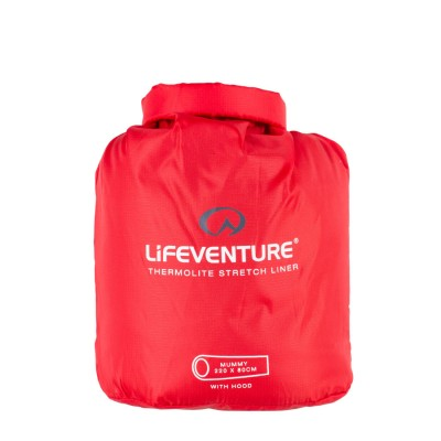 Lifeventure Thermolite Sleeping Bag Liner, Mummy