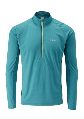 Rab Interval LS ZIip Tee