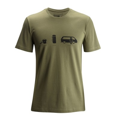 Burnt Olive - Black Diamond SS Dirt Bag Tee