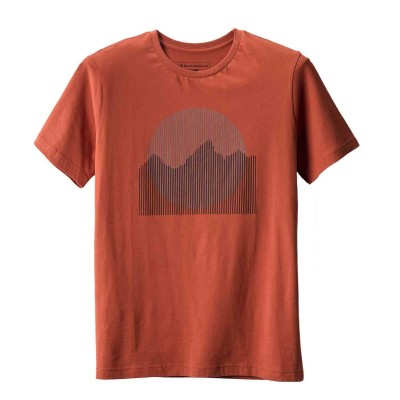 Rust - Black Diamond M SS Landscape Tee