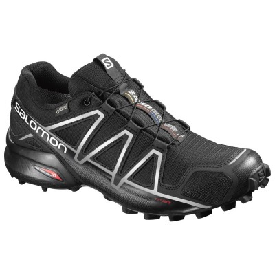 Black - Salomon Men`s Speedcross 4 GTX
