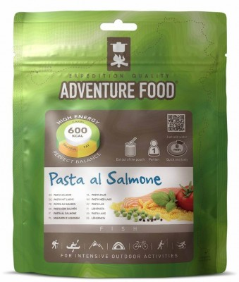Adventure Food Pasta Con Salmon