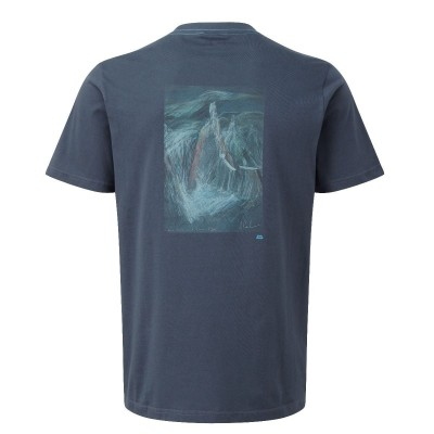 Ombre Blue - Vista Posterior - Mountain Equipment Cerro Torre Tee