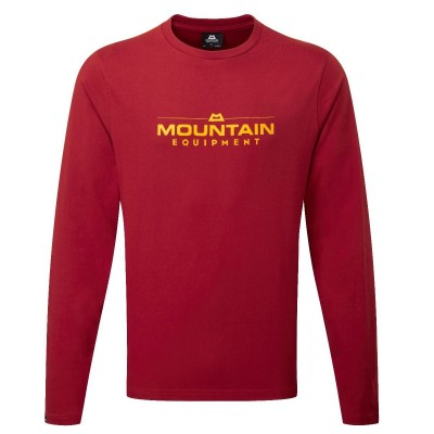 Mountain Equipment Logo LS Tee