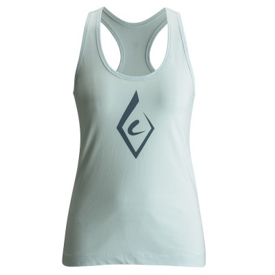 Glacial Blue - Black Diamond W`s Brushstroke Tank