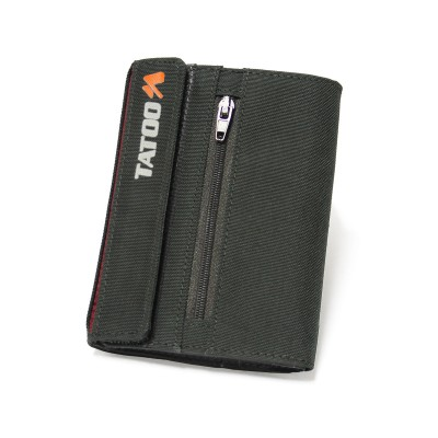 Grey - Tatoo Zip Wallet