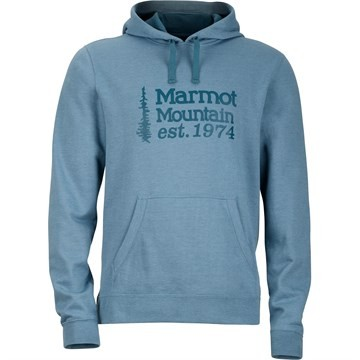 Blue Granite Heather - Marmot 74 Hoody