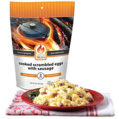 Campfire Meals Scrambled Eggs W/ Sausage
