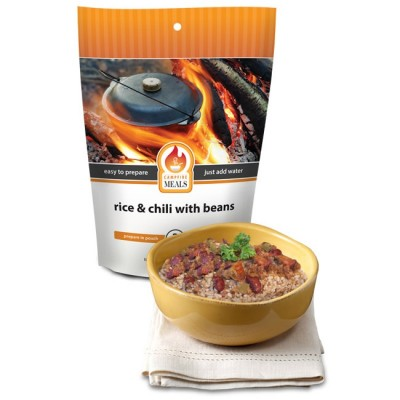 Campfire Meals Rice & Beef Chili Beans 2P