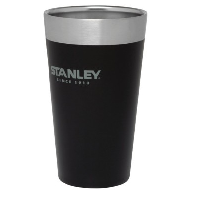 Black - Stanley Adventure Stacking Vacuum Pint 500ml