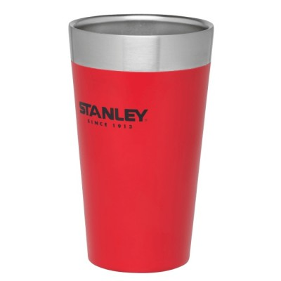 FLANNEL RED - Stanley Adventure Stacking Vacuum Pint 500ml