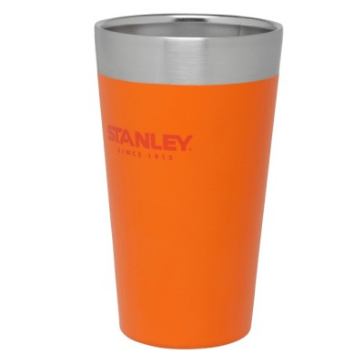 Signal Orange - Stanley Adventure Stacking Vacuum Pint 473ml