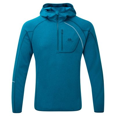 Legion Blue - Mountain Equipment Integrity Hooded Zip Tee