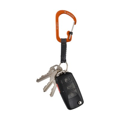 Nite Ize SlideLock Key Ring Aluminium