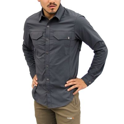 Steel - Tatoo Camisa ML Creek Hombre
