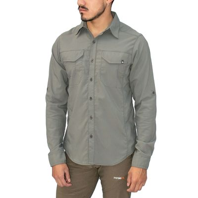 Gargoyle - Tatoo Camisa ML Creek Hombre
