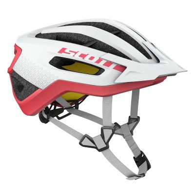 White/Melon Red - Scott Helmet Fuga PLUS rev (CE)