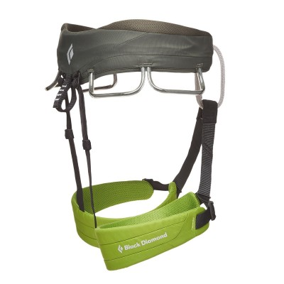 Verde - Vista Lateral - Black Diamond Momentum Harness Men´s