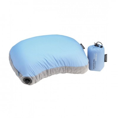 LIGHT BLUE / GRAY - Cocoon Hood / Camp Pillow Ultralight Air-Core