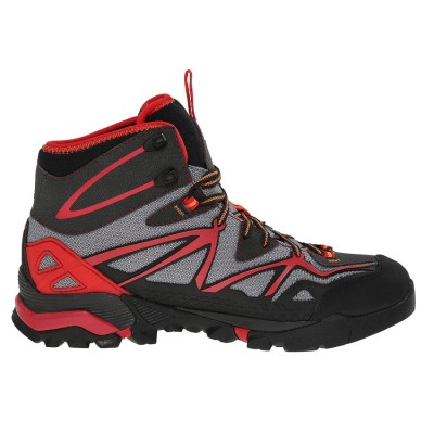 Light Grey/Red - Merrell Capra Mid Sport Gore-Tex