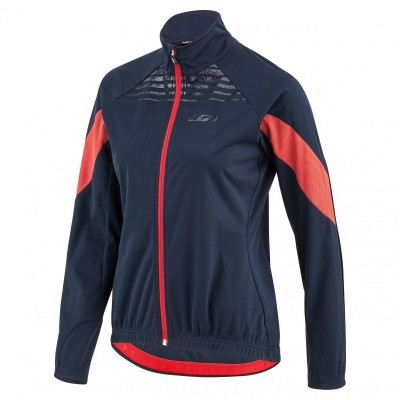 Red/Navy - Garneau Women´s Glaze Rtr Jacket
