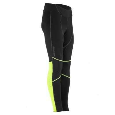 Black/Yellow - Garneau Women´s Solano 2 Chamois Tights