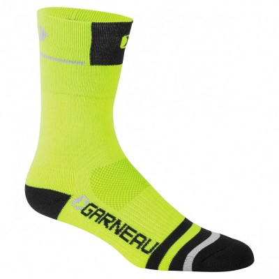 Yellow/Black - Garneau Merino Prima Socks