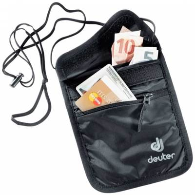 BLACK - Deuter Security Wallet II