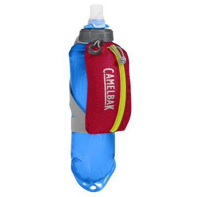 Crimson Red/Lime Punch - CamelBak Nano Handheld 17 oz Quick Stow Flask