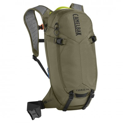 Burnt Olive/Lime Punch - CamelBak T.O.R.O. Protector 14