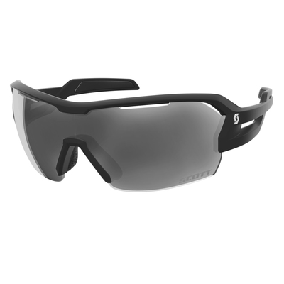 Black Matt/Grey + Clear - Scott Sunglasses Spur