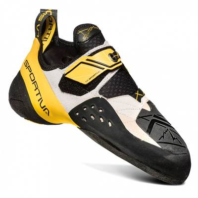 White/Yellow - La Sportiva Solution