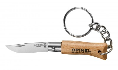 Opinel Keychain Stainless Steel