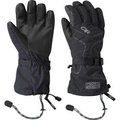 BLACK - Outdoor Research Highcamp Gloves