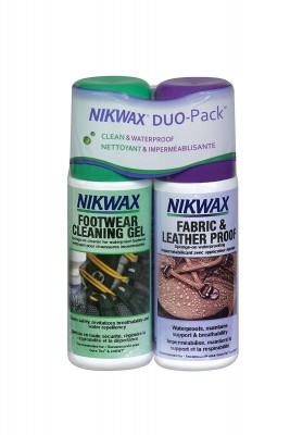 - Nikwax Pack Fabric & Leather / Footwear Cleaning Gel