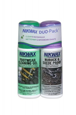 Nikwax Pack Nubuck & Sudue / Footwear Cleaning Gel